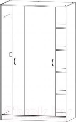 Шкаф Ikea Тодален 103.097.01