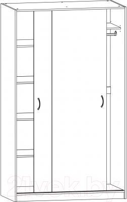 Шкаф Ikea Тодален 903.075.24