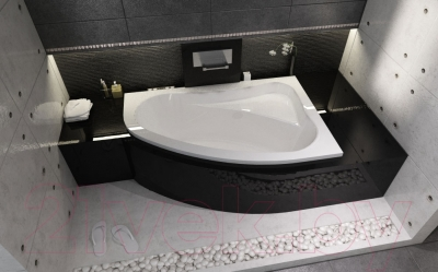Ванна акриловая Riho Lyra 140 L (BA66005)