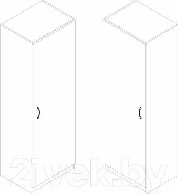 Шкаф-пенал Ikea Тодален 203.084.52