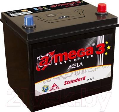 Автомобильный аккумулятор A-mega Standard Asia 45JR (45 А/ч)
