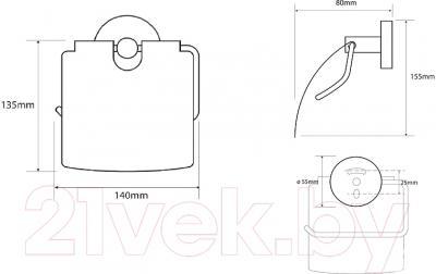 Держатель для туалетной бумаги Bemeta 104112012