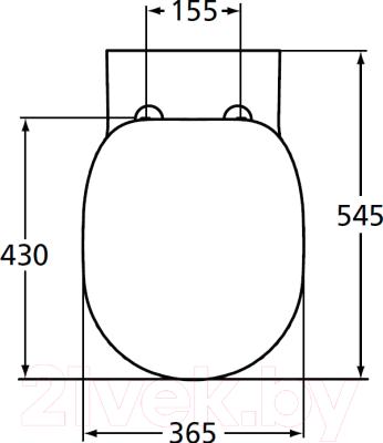 Унитаз подвесной Ideal Standard Connect E803501