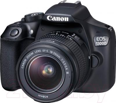 Зеркальный фотоаппарат Canon EOS 1300D Kit EF-S 18-55mm IS (1160C036AA)