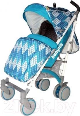 Детская прогулочная коляска Babyhit Rainbow Rhombus (синий)
