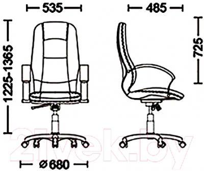 Кресло офисное Новый Стиль Formula Steel Chrome (LE-F)