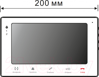 Видеодомофон Slinex SQ-07M (черный)