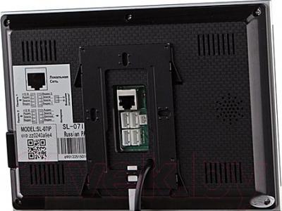 Видеодомофон Slinex SL-07IP (черный)