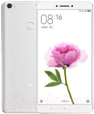 Смартфон Xiaomi Mi Max 16GB (серебристый)