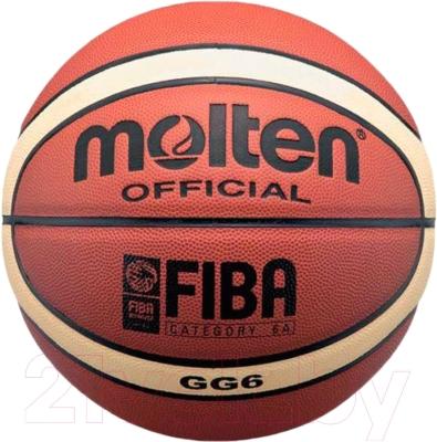 Баскетбольный мяч Molten BGG6 FIBA