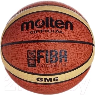 Баскетбольный мяч Molten BGM5 FIBA