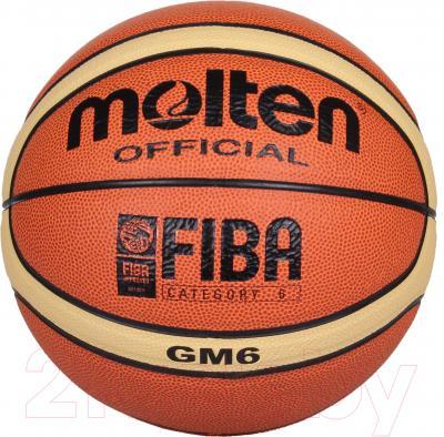 Баскетбольный мяч Molten BGM6 FIBA