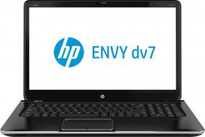 Ноутбук HP ENVY dv7-7353er (D2F84EA) - фронтальный вид