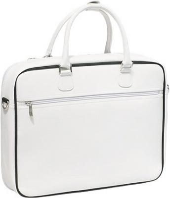 Сумка для ноутбука Sushi Fashion Retro White - вид сзади