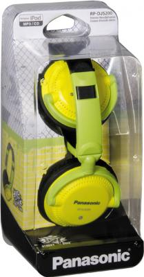Наушники Panasonic RP-DJS200E-Y - упаковка