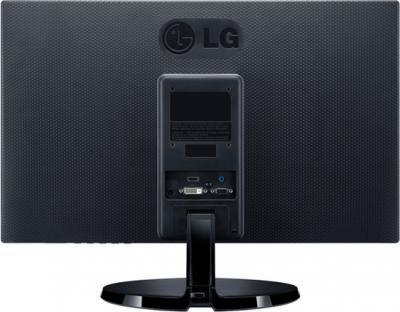Монитор LG 19EN43S-B - вид сзади