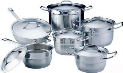 Набор кухонной посуды BergHOFF Hotel Line 1112138 - общий вид