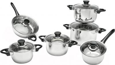 Набор кухонной посуды BergHOFF Vision Premium 1112466 - общий вид