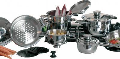 Набор кухонной посуды BergHOFF Pride 1116525 - общий вид