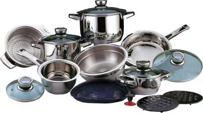 Набор кухонной посуды BergHOFF Mythe 1117010 - общий вид