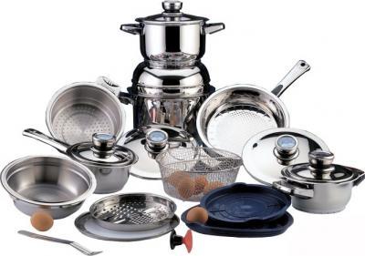 Набор кухонной посуды BergHOFF Profi De Luxe Induction 1120034 - общий вид