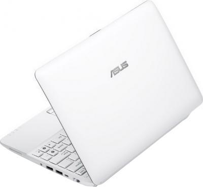 Ноутбук Asus Eee PC 1025C-WHI002B - вид сзади