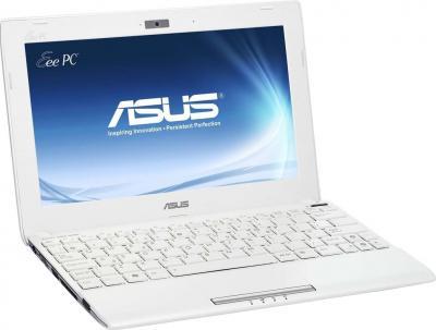 Ноутбук Asus Eee PC 1025C-WHI002B - общий вид