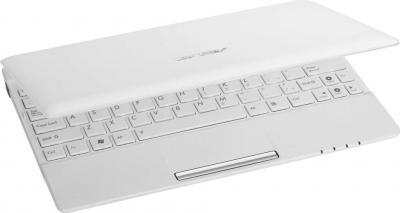 Ноутбук Asus Eee PC 1025C-WHI002B - полуоткрытый