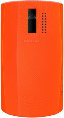 Мобильный телефон Nokia 205 Orange-White - задняя крышка