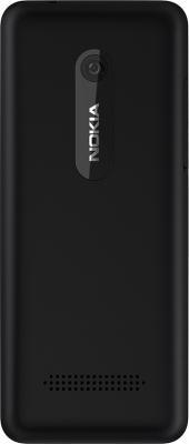 Мобильный телефон Nokia Asha 206 (Black) - задняя панель