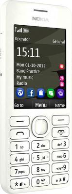 Мобильный телефон Nokia 206 White - общий вид