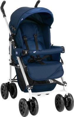 Детская прогулочная коляска Chicco Enjoy Fun (Blue) - общий вид