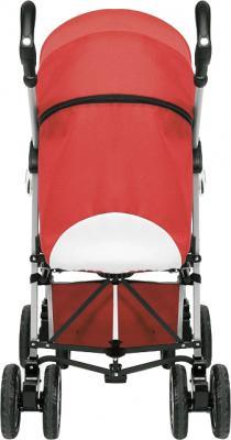 Детская прогулочная коляска Chicco Enjoy Fun (Coal) - вид сзади (цв. Garnet)