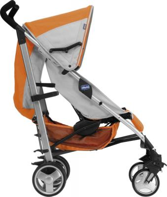 Детская прогулочная коляска Chicco Lite Way (Brown) - вид сбоку (Lite Way Complete Orange)