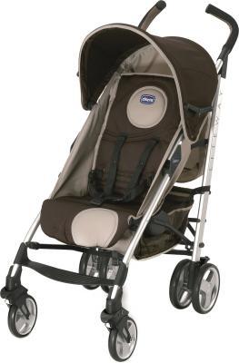 Детская прогулочная коляска Chicco Lite Way (Brown) - общий вид