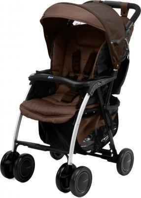 Детская прогулочная коляска Chicco Simplicity Plus (коричневый) - общий вид