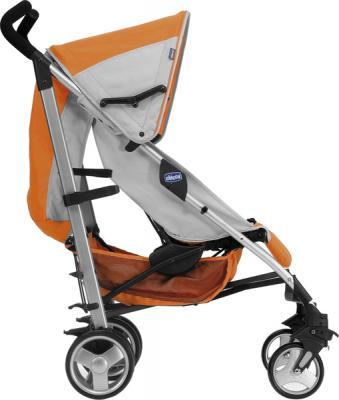 Детская прогулочная коляска Chicco Lite Way Complete (Denim) - вид сбоку (Lite Way Complete Orange)