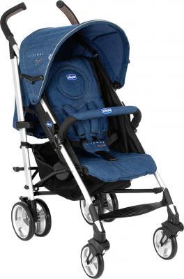 Детская прогулочная коляска Chicco Lite Way Complete (Denim) - общий вид