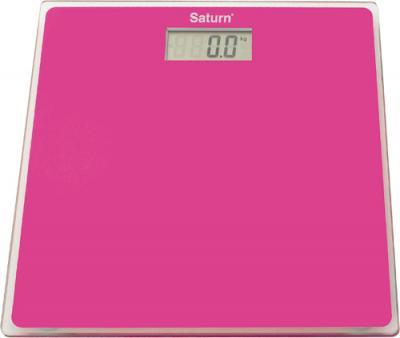 Напольные весы электронные Saturn ST-PS1247 (Pink) - общий вид