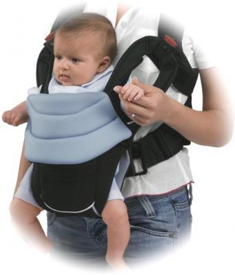 Сумка-кенгуру Chicco You&Me Beige - ребенок в рюкзаке