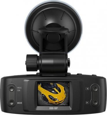 Автомобильный видеорегистратор TeXet DVR-1GP (Black) - дисплей