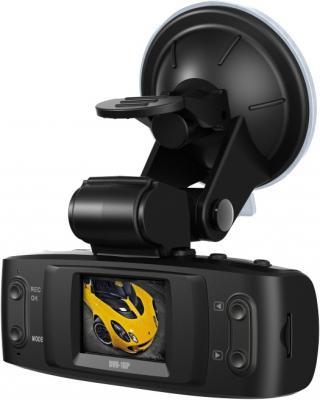 Автомобильный видеорегистратор TeXet DVR-1GP (Black) - вид полубоком