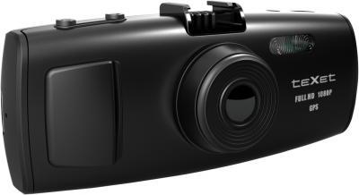 Автомобильный видеорегистратор TeXet DVR-2GP (Black) - общий вид