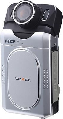 Автомобильный видеорегистратор TeXet DVR-500HD Silver - общий вид