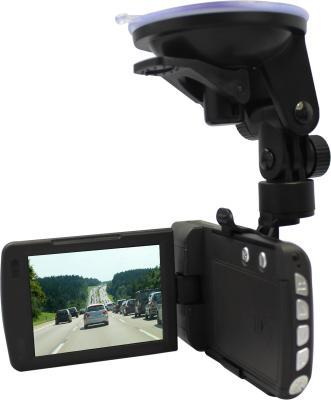 Автомобильный видеорегистратор TeXet DVR-580FHD (Black) - дисплей