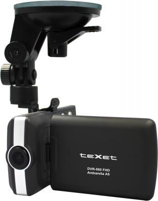 Автомобильный видеорегистратор TeXet DVR-580FHD (Black) - общий вид