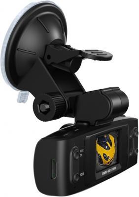 Автомобильный видеорегистратор TeXet DVR-601FHD Black - вид полубоком