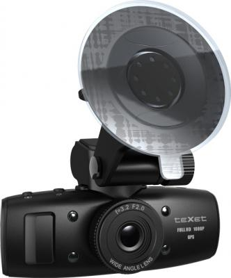 Автомобильный видеорегистратор TeXet DVR-601FHD Black - общий вид