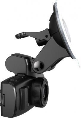 Автомобильный видеорегистратор TeXet DVR-601FHD Black - вид сбоку