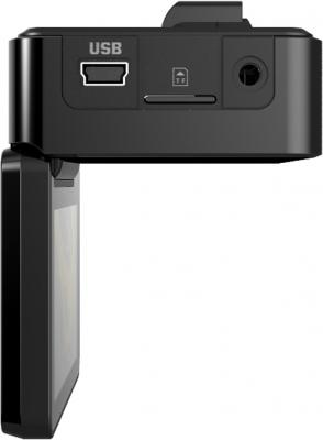 Автомобильный видеорегистратор TeXet DVR-620FHD Black - вид сбоку (слева)